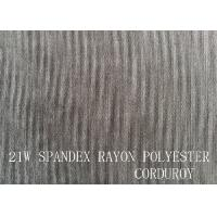 Buy cheap 21W  SPANDEX RAYON POLYESTER CORDUROY FOR GARMENT product