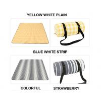 Buy cheap Tear Resistant Foldable Picnic Mat , Water Repellent Picnic Blanket product