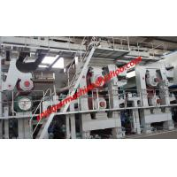 Quality 3600mm Three-wire fourdrinier kraft paper machine for sale