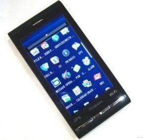 Buy cheap Quad el teléfono móvil F090 de GPS Wifi TV de la banda con la tarjeta de memoria 2GB product