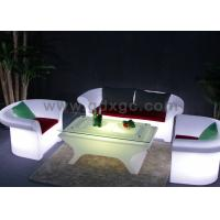 hot sell led sofa chair light up sofa furniture night club led sofa GF403&GF405