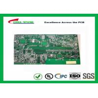 Buy cheap Lead Free White Silkscreen Double Sided Circuit Board for TV product
