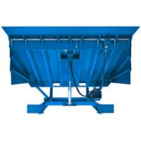 Buy cheap Two oil cyclinders hydraulic dock leveler 0.5m for wharf , postal transportation product