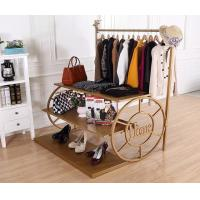 Buy cheap Multi Color Shoe Display Shelves Retail Shoe Display Fixtures Easy Installation product