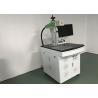 Buy cheap Raycus IPG / Fiber Laser Marking Machine Metal Etching Machine ≤7000mm/S Speed from wholesalers