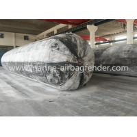 Buy cheap D1.8m x EL20m x 6 layers Caisson Lifting Inflatable Marine Rubber Airbags product