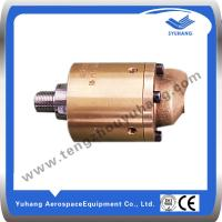 Buy cheap High Speed Brass Rotary Joint,High Pressure Brass Swivel Joint,Hydraulic Rotary Union product
