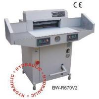 Buy cheap Hydraulic & Programmable Paper Cutter (BW-R670V2) product