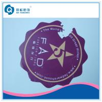 Buy cheap Custom Die Cut Vinyl Stickers , Anti-Counterfeiting Destructible Stickers product