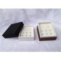China Up And Down Cufflink And Tie Clip Storage Box Square Shape 93 X 75 X 50mm Size wholesale