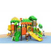 Buy cheap Children Outdoor Playground Large Kids Plastic Slide , Kids Plastic Play Gym product