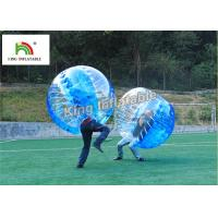 Buy cheap 1.0mm PVC Inflatable Bumper Ball Transparent Bubble Ball For Football Games product