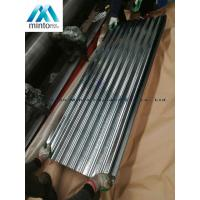 Buy cheap Zinc Coated Corrugated Roofing Sheets Galvanized Corrugated Roof Panels Antirust product