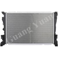 Quality Aftermarket Engine Parts Mercedes Benz Radiator With Aluminum Core And Plastic for sale