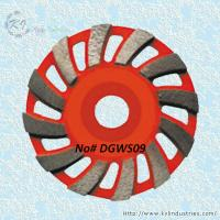 Buy cheap Swirling Segment Cup Grinding Wheel - DGWS09 product