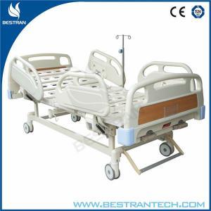 Buy cheap 2 camas de hospital del oficio de enfermera manual de las manivelas/camas médicas de la atención a los pacientes product