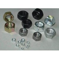 Buy cheap Black / Yellow / White Hex Head Nuts Hexagon Top Lock Nut DIN 934 Carbon Steel product