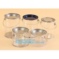 Buy cheap aluminum tin aluminum container jar with clear window top aluminum cans with screw lid for cosmetic/food bagplastics pac product