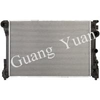 Buy cheap Light Weight Low Noise Mercedes Car Radiator , Custom Aluminum Radiator With Plastic Tank product
