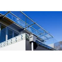 Buy cheap Balustrade en verre Frameless d'acier inoxydable avec des garnitures de from wholesalers