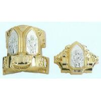 Buy cheap Plastic Coffin Handles Coffin Accessories In Gold Color , Long Life Time product