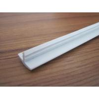 Quality 12mm width T molding/T shaped edge banding/T profile/PVC/white/any color/any length for sale