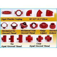 Buy cheap Grooved Pipe Fittings Flexible Reducing Coupling with UL FM product