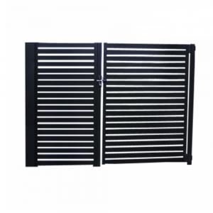 Buy cheap Modern Aluminium Louver Doors Retractable Sliding Anodized With Automatic System product