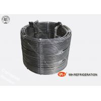 Buy cheap High Efficiency Refrigerator Evaporator Titanium Tubes In Coils,Cooling Coil Tube product