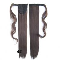 China Soft Bond Long Synthetic Heat Resistant Hair ExtensionsSilky Straight 20 Inch wholesale