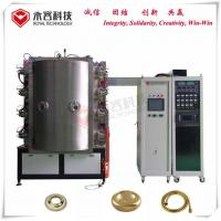 Buy cheap TiN gold plating machine, Arc Evaporation PVD Vacuum Coating Machine For Stainless Steel Sanitary Ware product