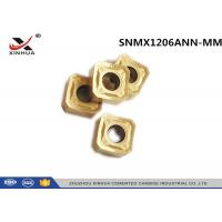 Buy cheap CNC Lathe Carbide Milling Inserts SNMX1206ANN - MM For Cast Iron K10 - K20 product