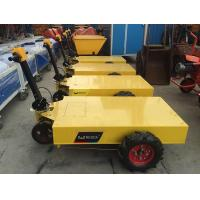 Buy cheap Convenient Electric Trolley Pallet With Battery , Mobile Construction Tool Trolley product