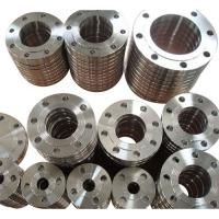 Buy cheap JIS EN1092-1 DIN GOST BS4504 Metal Processing Machinery Parts Pipe Fitting Flanges product