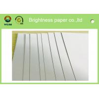 Folding Box Making Paper Packaging Board , Cup Stock Paper Chemical Pulp Type