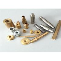 Buy cheap Lathe Turning Brass CNC Turned Parts , Full Inspection Custom Machined Parts product