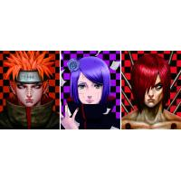 Buy cheap Japanese Anime Change Effect 3D Lenticular Picture Optical Grade PET / APET Film Material product