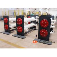 Quality Shell Tube Heat Exchanger Water Cooling For Freezing Industries , Leather for sale