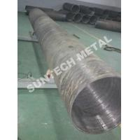 China UNS N04400 Nickle Alloy and Carbon Steel Clad Pipe For Chemical Process Equipment wholesale