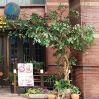 Buy cheap Outdoor Fake Lagerstroemia Indica Tree For Corner Decoration 3m Height product