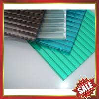 Buy cheap hollow polycarbonate sheeting,polycarbonate roofing sheeting,roof panel,nice building product,excellent waterproofing! product