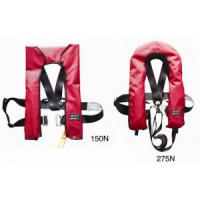 Buy cheap Inflatable Marine Life Saving Equipment Life Jacket Horse Collar Type With High Buoyance product