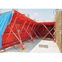 Buy cheap Professional Red Color Tunnel Formwork System Reusable OEM / ODM Available product