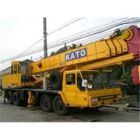 Buy cheap Used Kato nk-500e truck crane from wholesalers