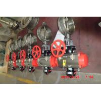 Quality Stainless Steel Butterfly Valve for Industrial Chemical / Power / Light Textile for sale