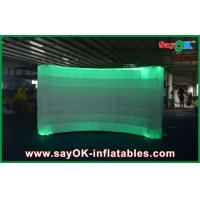 Buy cheap 12 Led Air Light Inflatable Wall Digital Printing Remote Control 3x1.5x2 m product