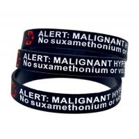 Buy cheap Custom 1 Inch Wide Silicone Bracelets,Debossed Color Filled Silicone Wristbands product