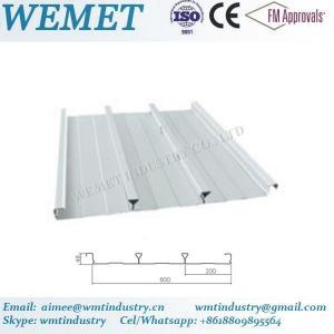 Buy cheap Steel floor deck for steel structure building WMT 48-200-600 product