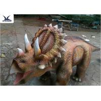 Buy cheap Playground Dinosaur Toy Motorized Animal Scooters Cartoon Battery Car product