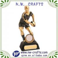 Buy cheap Football Resin Award Trophy from wholesalers